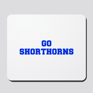 Shorthorns-Fre blue Mousepad