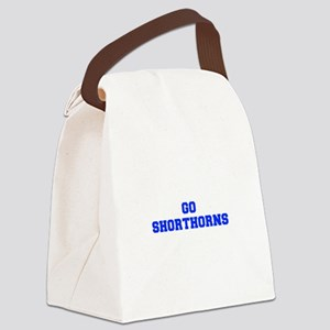 Shorthorns-Fre blue Canvas Lunch Bag