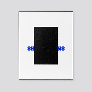 Shorthorns-Fre blue Picture Frame