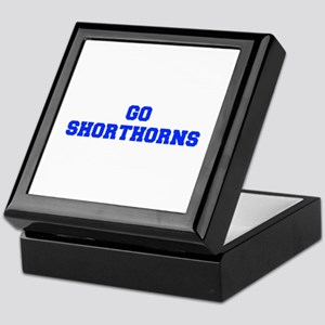 Shorthorns-Fre blue Keepsake Box