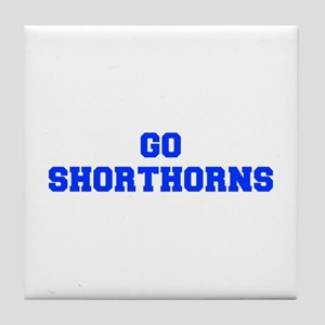 Shorthorns-Fre blue Tile Coaster