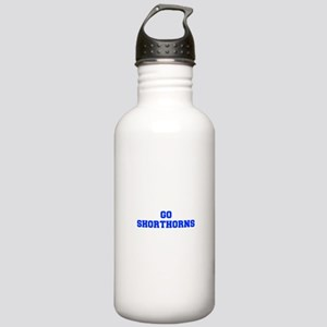 Shorthorns-Fre blue Water Bottle