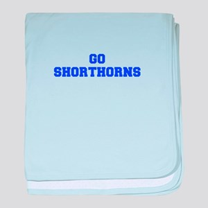 Shorthorns-Fre blue baby blanket