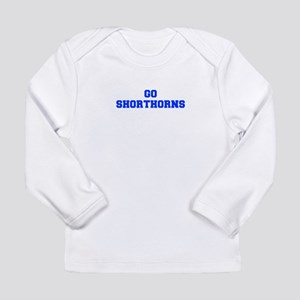 Shorthorns-Fre blue Long Sleeve T-Shirt