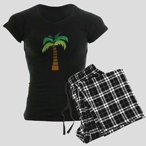 Lone Palm Women's Dark Pajamas