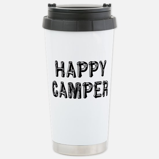 Happy Camper Travel Mug
