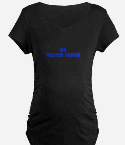 Silver Foxes-Fre blue Maternity T-Shirt