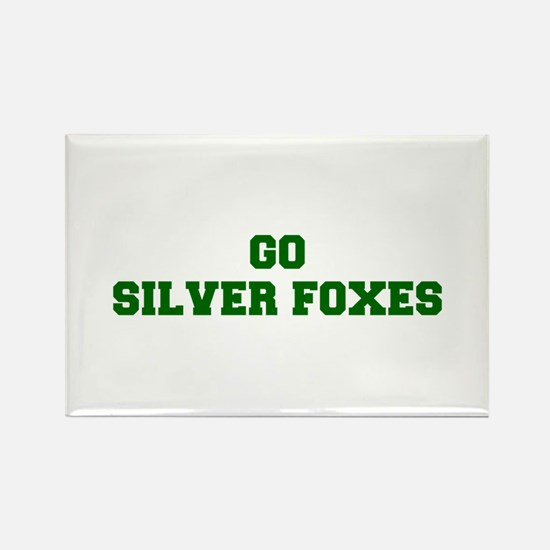 Silver Foxes-Fre dgreen Magnets