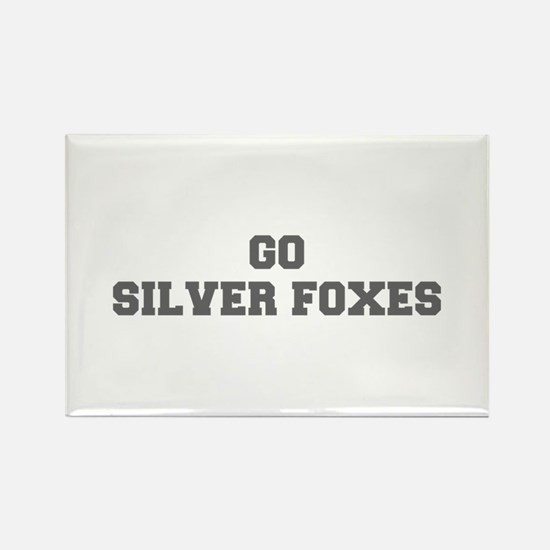 SILVER FOXES-Fre gray Magnets