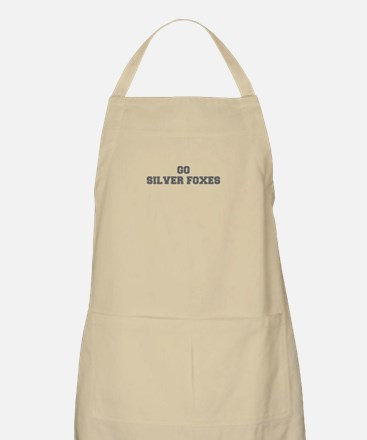 SILVER FOXES-Fre gray Apron