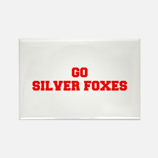 SILVER FOXES-Fre red Magnets