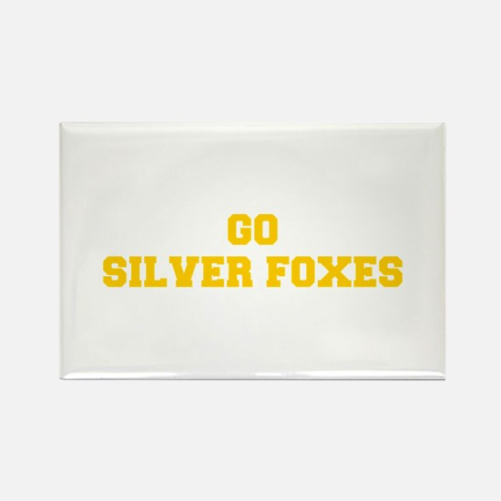Silver Foxes-Fre yellow gold Magnets