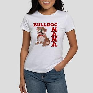 BULLDOG MAMA Women's T-Shirt