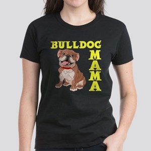 BULLDOG MAMA Women's Dark T-Shirt