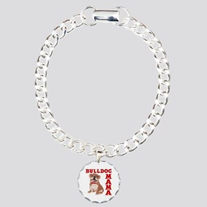 BULLDOG MAMA Charm Bracelet, One Charm