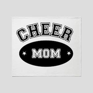 Cheer Mom Throw Blanket