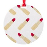 Lipstick Love Ornament