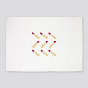 Lipstick Love 5'x7'Area Rug