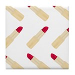 Lipstick Love Tile Coaster