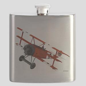 Large Triplane Flask