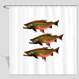 SESSION TIME Shower Curtain