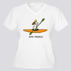 dog paddle 6 copy Plus Size T-Shirt