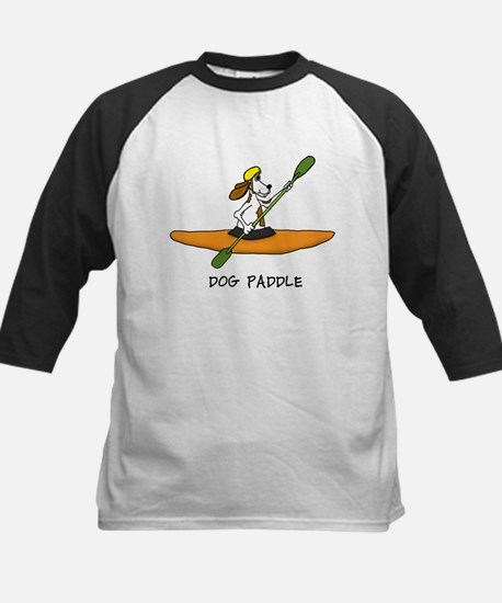 Dog Paddle Baseball Jersey