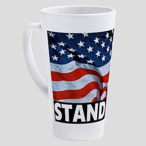 Pro-Football Stand Up! 17 oz Latte Mug