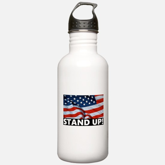 Pro-Football Stand Up! Water Bottle