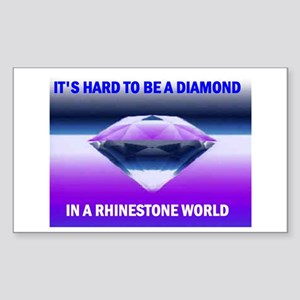 DIAMOND Rectangle Sticker