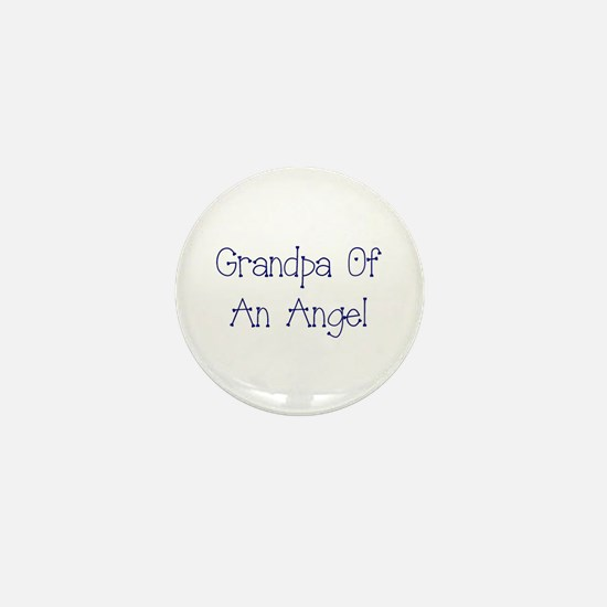 Grandpa of an Angel Mini Button