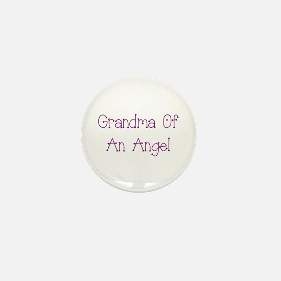 Grandma of an Angel Mini Button