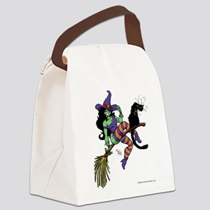 Witchy Canvas Lunch Bag