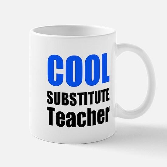 Cool Substitute Teacher Mugs