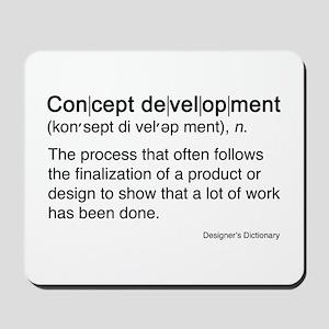 Concept Development Mousepad