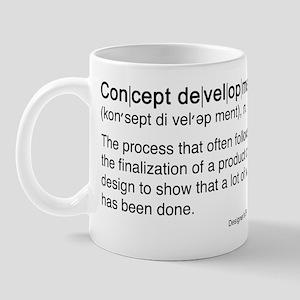 Concept Development Mug