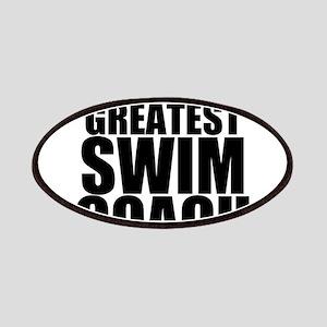 World's Greatest Swim Coach Patch