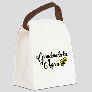 Grandma to Bee Canvas Lunch Bag