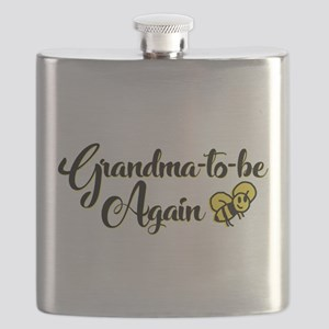 Grandma to Bee Flask