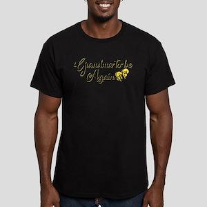 Grandma to Bee Men's Fitted T-Shirt (dark)