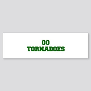 Tornadoes-Fre dgreen Bumper Sticker