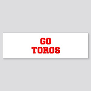 TOROS-Fre red Bumper Sticker