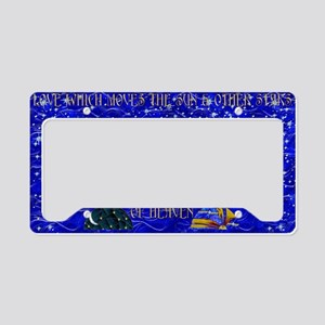 Harvest Moons Sun & Moon License Plate Holder