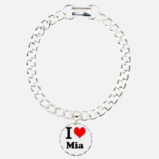 I Love Mia Bracelet