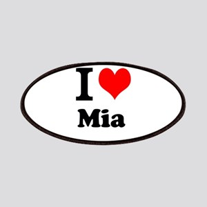 I Love Mia Patch