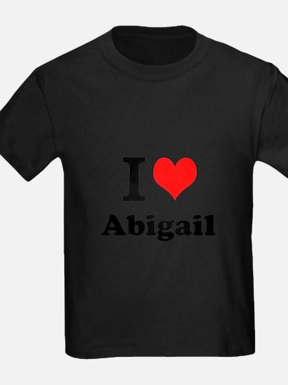 I Love Abigail T-Shirt