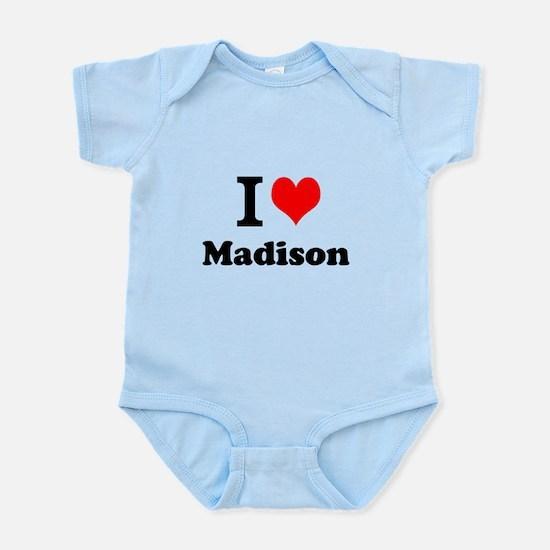 I Love Madison Body Suit