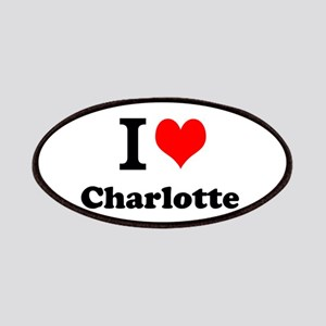 I Love Charlotte Patch