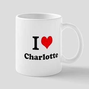I Love Charlotte Mugs