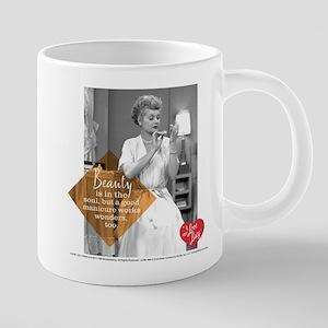 I Love Lucy Beauty 20 oz Ceramic Mega Mug